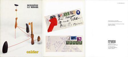 挿絵入り本 Calder - DERRIÈRE LE MIROIR N°248: 30 mobiles, stabiles et machines motorisées (1981).
