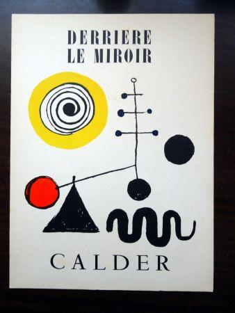 挿絵入り本 Calder - DERRIÈRE LE MIROIR N°31