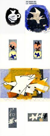 挿絵入り本 Braque - DERRIÈRE LE MIROIR N° 115. BRAQUE. Juin-Juillet 1959.
