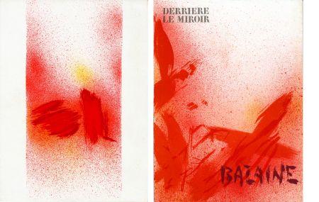 挿絵入り本 Bazaine - DERRIÈRE LE MIROIR N° 215. BAZAINE. Octobre 1975 (7 lithographies originales).