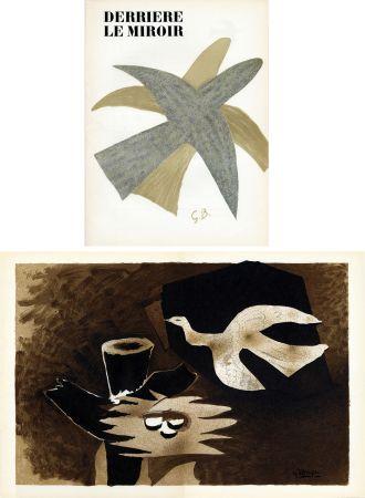 挿絵入り本 Braque - DERRIÈRE LE MIROIR N° 85-86. BRAQUE. Avril-mai 1956.