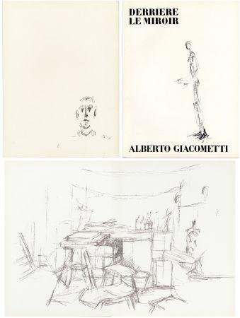 挿絵入り本 Giacometti - DERRIÈRE LE MIROIR N° 98. L' ATELIER D' ALBERTO GIACOMETTI (Jean Genet). Juin 1957.