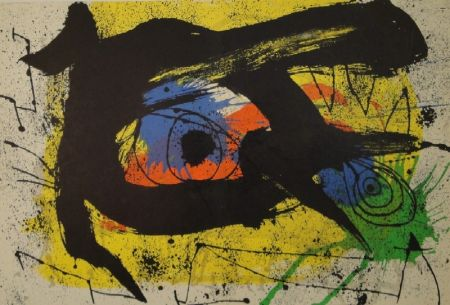 リトグラフ Miró - DERRIÈRE LE MIROIR, No 203. Miró.