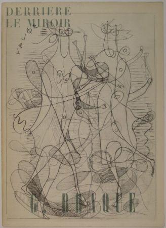 挿絵入り本 Braque - DERRIÈRE LE MIROIR, Nos 71-72