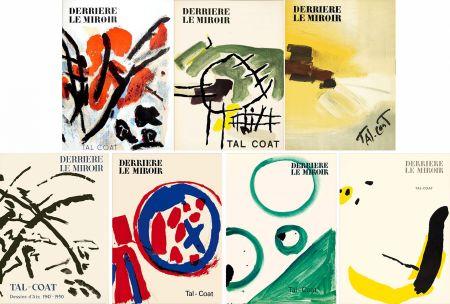 挿絵入り本 Tal Coat - DERRIÈRE LE MIROIR. TAL COAT. Collection complète des 7 volumes de la revue consacrés à PIERRE TAL-COAT (de 1954 à 1972).