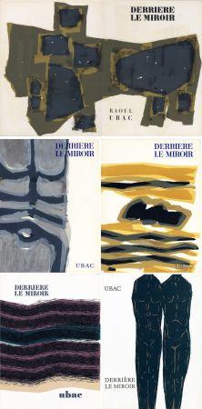 挿絵入り本 Ubac - DERRIÈRE LE MIROIR. UBAC. Collection complète des 9 volumes de la revue consacrés à Raoul Ubac (de 1950 à 1982).