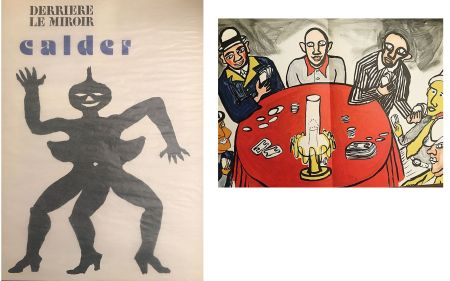 リトグラフ Calder - Derrière le miroir N°212. Alexander CALDER.