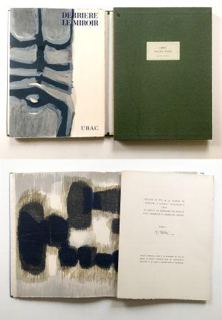 挿絵入り本 Ubac - Derrière le Miroir n° 130. UBAC, PIERRES TAILLÉES (Nov. 1961). TIRAGE DE LUXE SIGNÉ.