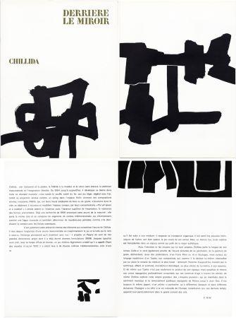 挿絵入り本 Chillida - Derrière le Miroir n° 143 . CHILLIDA . Avril 1964.
