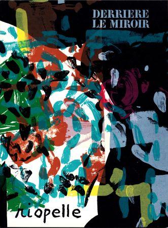 挿絵入り本 Riopelle - Derrière le Miroir n° 171. RIOPELLE. 10 LITHOGRAPHIES ORIGINALES. Avril 1968.