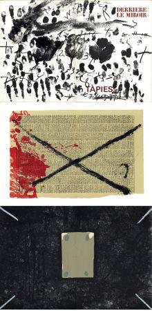 挿絵入り本 Tapies - Derrière le Miroir n° 175 . TÀPIES: