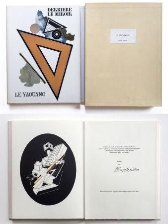 挿絵入り本 Le Yaouanc - Derrière le miroir, n° 176. Le Yaouanc. 1969. TIRAGE DE LUXE SIGNÉ.