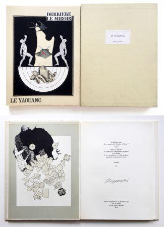 挿絵入り本 Le Yaouanc - Derrière le miroir, n° 189. Le Yaouanc. 1970. TIRAGE DE LUXE SIGNÉ.