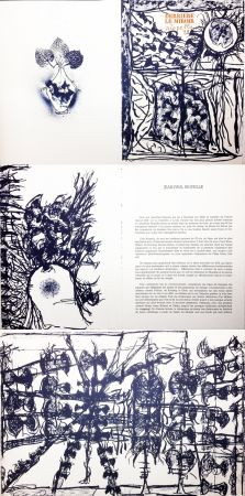 挿絵入り本 Riopelle - Derrière le Miroir n° 232. 9 LITHOGRAPHIES ORIGINALES (1979).