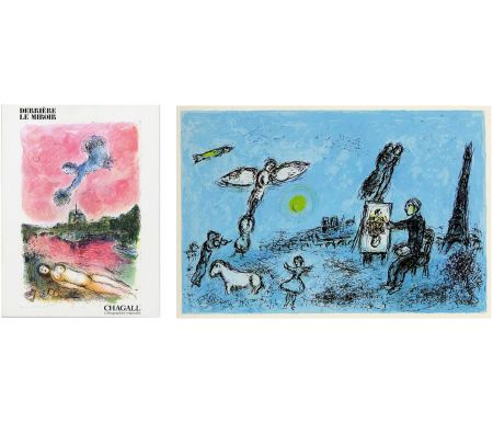 挿絵入り本 Chagall - Derrière Le Miroir n° 246 - CHAGALL. Lithographies originales. Mai 1981.