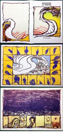 挿絵入り本 Alechinsky - Derrière le Miroir n° 247. ALECHINSKY. 6 ESTAMPES ORIGINALES. 1981