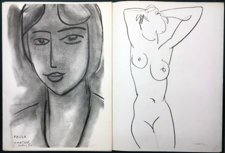 挿絵入り本 Matisse - Derrière le Miroir n° 46-47. MATISSE. Mai 1952. 1ère Édition.