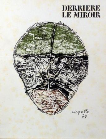 挿絵入り本 Riopelle - Derriere le Miroir n.208
