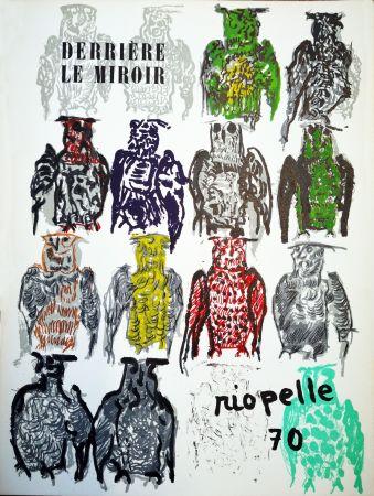 挿絵入り本 Riopelle - Derriere le Miroir n. 185