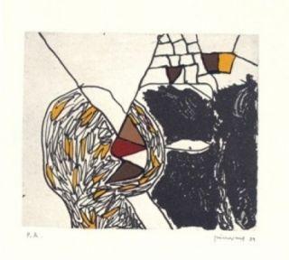 彫版 Guinovart - Des De Loca-Marge