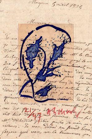 彫版 Alechinsky - Des deux mains