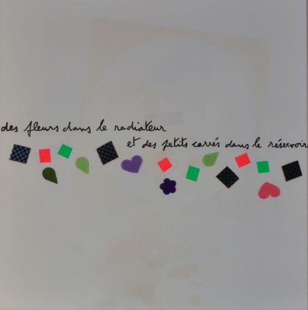 リトグラフ Baj - Des Fluers Dans Le Radiateur