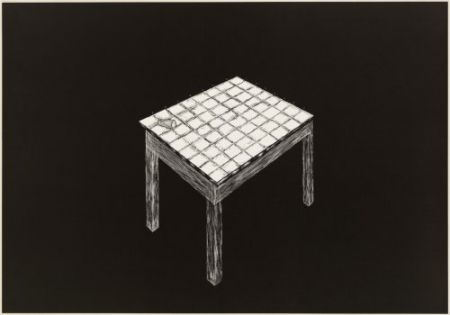リトグラフ Komatsu - Desapropriaçâo 3