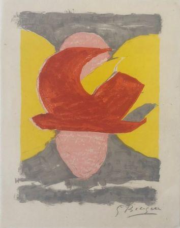 リトグラフ Braque - Descente aux enfers