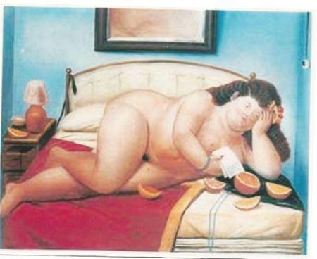 オフセット Botero - Desnudo