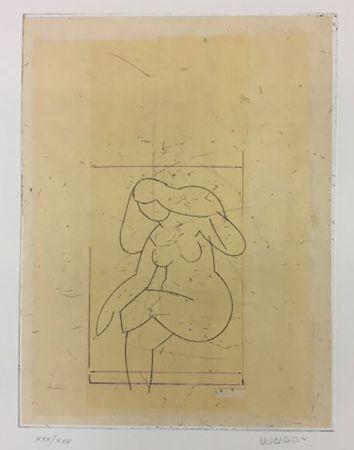 彫版 Valdés - Desnudo XIII