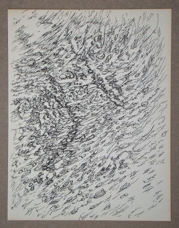 リトグラフ Michaux - Dessin, 1955