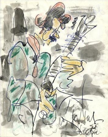 技術的なありません Paul  - Dessin Original / Original Drawing - ALEXANDRE LAGOYA - Portrait