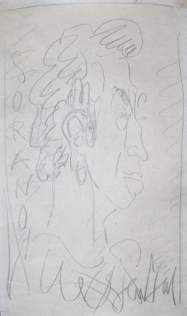 技術的なありません Paul  - Dessin Original / Original Drawing - DANIEL SORANO - Portrait