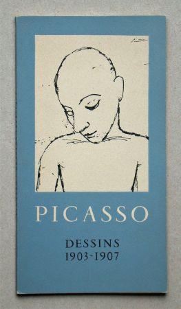 挿絵入り本 Picasso - Dessins 1903-1907