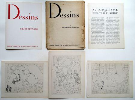 オフセット Matisse - Dessins de Henri-Matisse