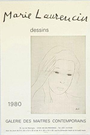 掲示 Laurencin - Dessins  Galerie des Maitres Contemporains