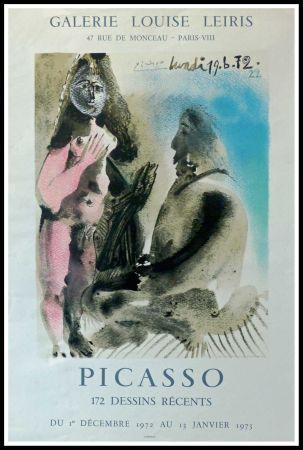 掲示 Picasso - DESSINS PICASSO, GALERIE LOUISE LEIRIS