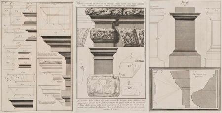 彫版 Piranesi - Detalles arquitectónicos