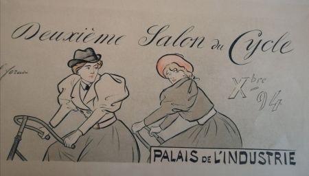 リトグラフ Forain - Deuxième Salon du Cycle