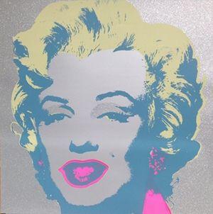 シルクスクリーン Warhol (After) - Diamond Marilyn (by Sunday B. Morning)