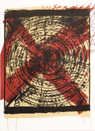 リトグラフ Tapies - Diana