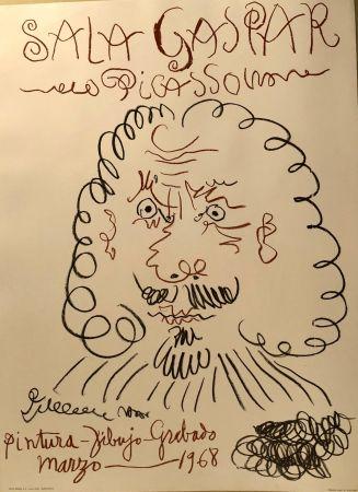 掲示 Picasso -  Dibujos De Picasso - Sala Gaspar Avril 1961