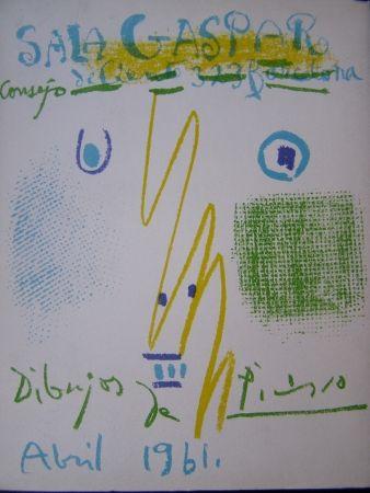 リトグラフ Picasso - DIBUJOS PICASSO ABRIL 1961