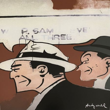 オフセット Warhol - Dick Tracy