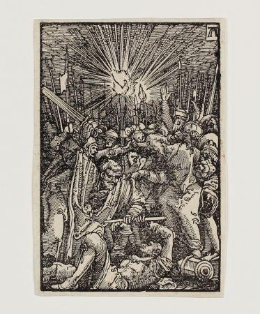 木版 Altdorfer - Die Gefangennahme Christi (The Betrayal)