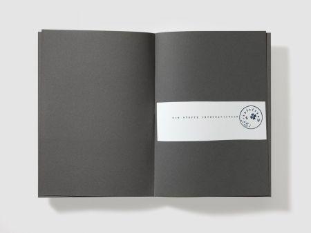 シルクスクリーン Beuys - Die leute sind ganz prima in Foggia