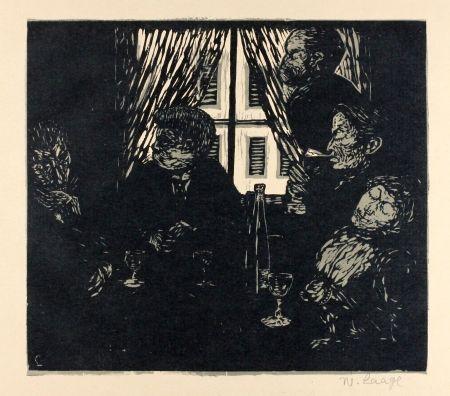 木版 Laage - Die Stumpfsinnigen (The Dull Ones)