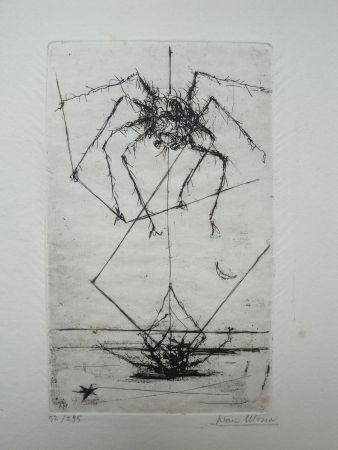 彫版 Mosca - Dieci Acqueforti Originali