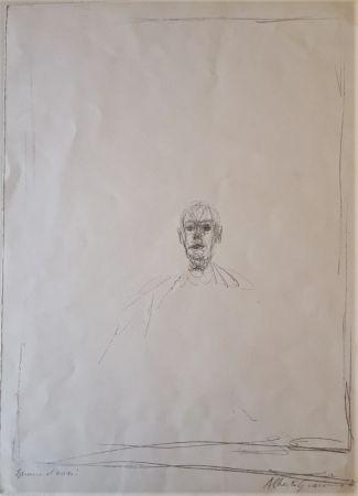 リトグラフ Giacometti - Diego