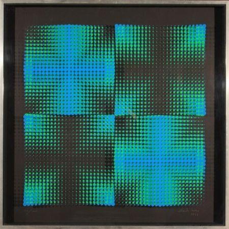 シルクスクリーン Biasi - Dinamica visiva